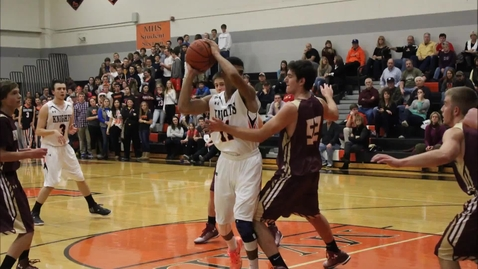 Thumbnail for entry Boys basketball highlights from 12_9_14