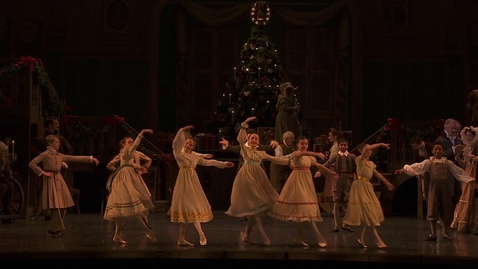 """Thumbnail for entry The Nutcracker at the Royal Ballet: """"March of the Toy Soldiers"""""""