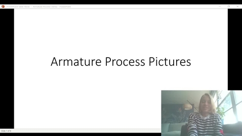 Thumbnail for entry armature process video demo