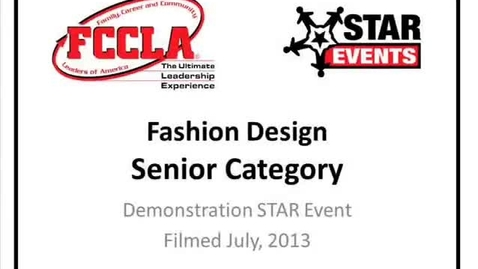 Fccla Star Events Demonstration Early Childhood Canyon Del Oro Schooltube Safe Video Sharing And Management For K12