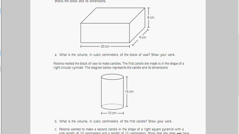 Thumbnail for entry MCAS Math 2010 Page 20