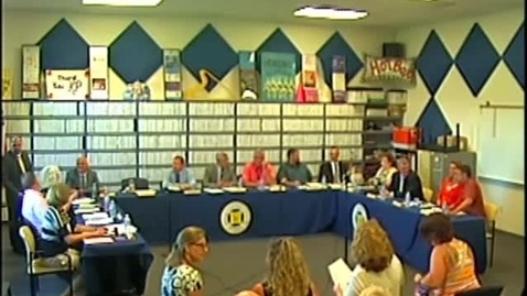 Thumbnail for entry Wayne Central Board of Education Meeting 7/10/2014