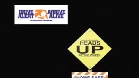 Thumbnail for entry Heads Up at the Wheel