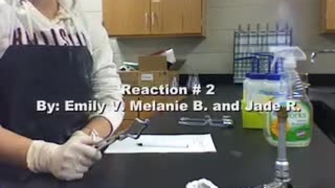 Thumbnail for entry Types of Reactions- Synthesis