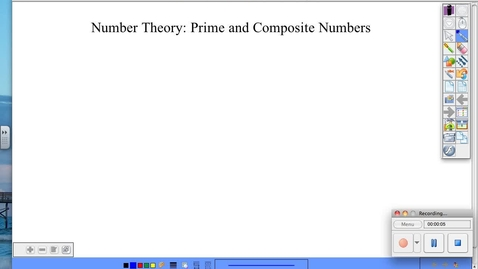 Thumbnail for entry AC 5.1 Prime and Composite Numbers