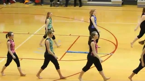 Thumbnail for entry Winter Color Guard