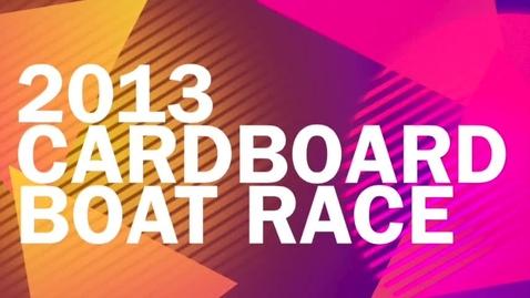 Thumbnail for entry Skills Alberta Cardboard Boat Race