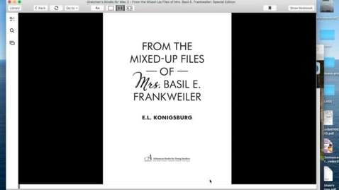 Thumbnail for entry Chapter 1 From the Mixed-Up Files