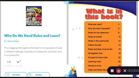 Thumbnail for entry Why Do We Need Rules and Laws?