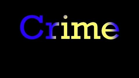 Thumbnail for entry Crime