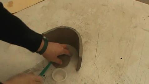 Thumbnail for entry Making a Cylinder for a Slab Mug.