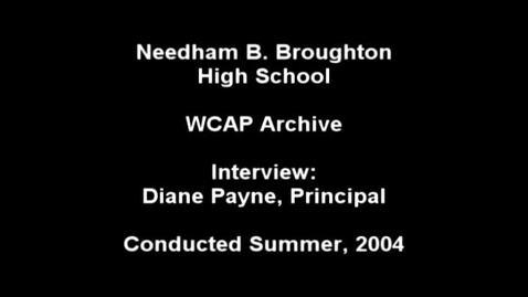 Thumbnail for entry Diane Payne 2004