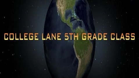 Thumbnail for entry The Great American Movie - College Lane Elementary