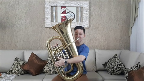 Thumbnail for entry Havana - Solo Tuba Cover