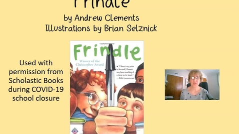 Thumbnail for entry Frindle Chapter 1
