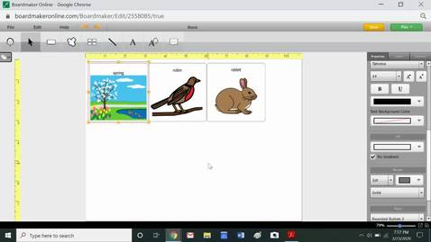 Thumbnail for entry BoardMaker Basics_ Modifying a Button