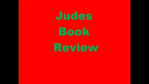 Thumbnail for entry 13-14 Linville Jude's Book Review