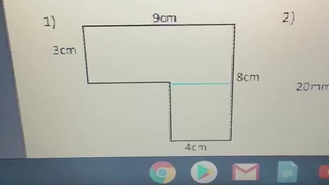 Thumbnail for entry Finding Area of an Irregular Shape
