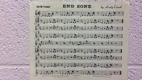 Thumbnail for entry End Zone 2nd trumpet pt 1