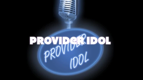 Thumbnail for entry Provider Idol