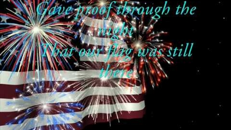 Thumbnail for entry Gaither Vocal Band - The Star Spangled Banner (with lyrics)
