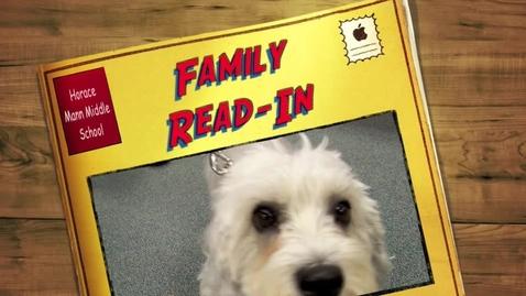Thumbnail for entry Family Reading Night @ Horace Mann