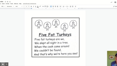 Thumbnail for entry 5 Fat Turkeys doc - Google Docs