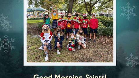 Thumbnail for entry Saints @ 8  - January 6, 2021