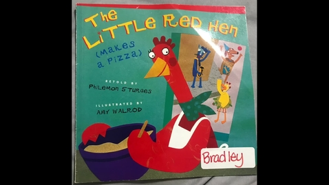 Thumbnail for entry Mrs. Harrell Reads - The Little Red Hen (Makes a Pizza)