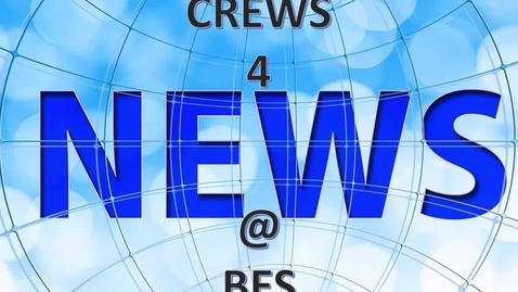 Thumbnail for entry CREWS 4 NEWS @ BES - SEPTEMBER 30, 2021