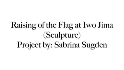 Thumbnail for entry Iwo Jima Sculpture CLP