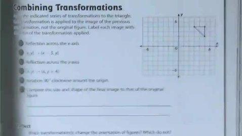 Thumbnail for entry 9.5 Proving Two Figures are Congruent by Putting One Figure Through a Sequence of Transformations to Obtain the Other Figure