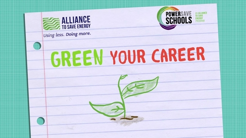 Thumbnail for entry Green Your Career 6-8