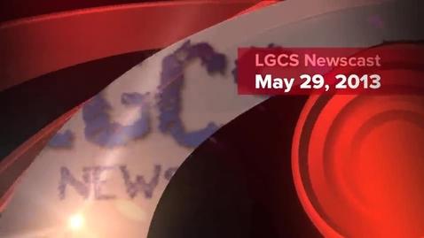 Thumbnail for entry LGCSTV Newscast