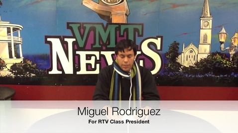 Thumbnail for entry Miguel Rodriguez for RTV President