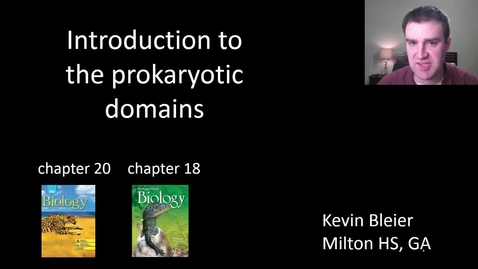 Thumbnail for entry Intro to the prokaryotic domains