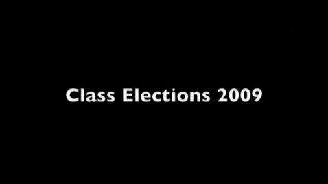 Thumbnail for entry EHS Class Officer Election Speeches