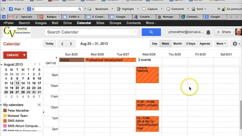 Thumbnail for entry Google Calendar - Event Inviting Participants
