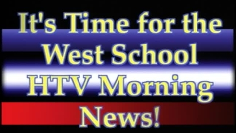 Thumbnail for entry West HTV News 2011