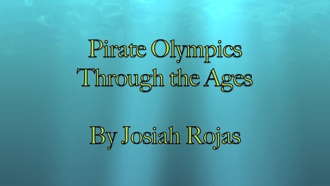 Thumbnail for entry Pirate Olympics Through the Ages