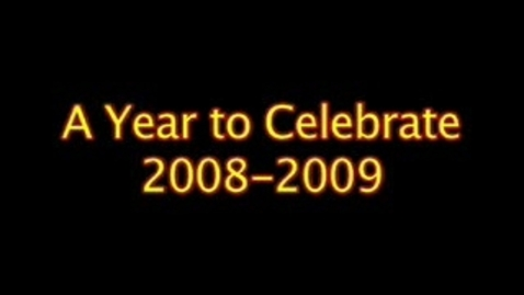 Thumbnail for entry Pep Rally Video:Year in Review 2008-2009