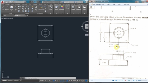 Thumbnail for entry AutoCAD LESSON 3H-2
