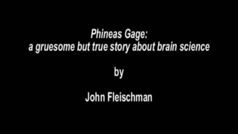 """Thumbnail for entry Booktalks - """"Phineas Gage"""""""