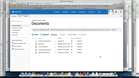 Thumbnail for entry How to Submit Essays on Canvas and Submit OneDrive Essays