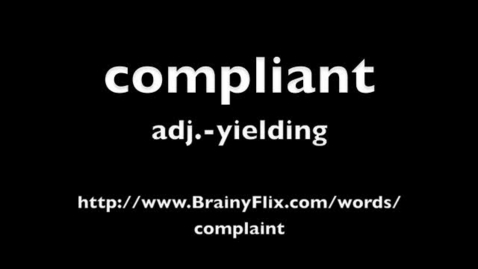 Thumbnail for entry compliant BrainyFlix.com Vocab Contest
