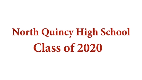 Thumbnail for entry NQHS-2020 virtual Graduation