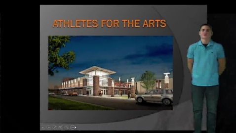 Thumbnail for entry Athletes for the arts