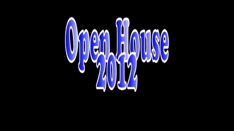 Thumbnail for entry 2012 Open House