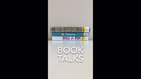 Thumbnail for entry BOOK TALKS JAN 30, 2017