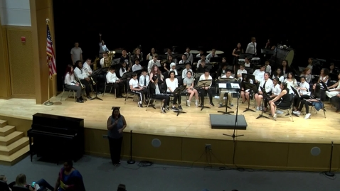 Thumbnail for entry Point Webster Middle Spring Concert 2019